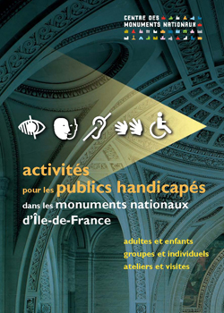 couverture brochure activits adaptes en IDF